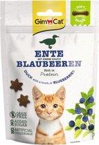 10x GimCat Kattensnack Soft Eend - Bosbessen 60 gr
