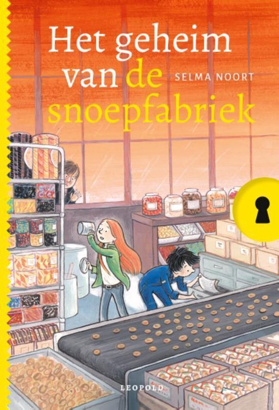 Boek cover Geheim van…  -   Het geheim van de snoepfabriek van Selma Noort (Hardcover)