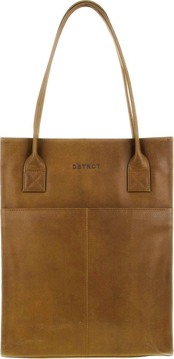 DSTRCT Limited Shopper - 15,6 inch Laptoptas - Cognac - DSTRCT