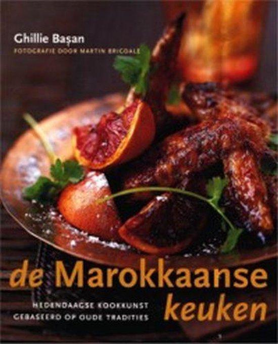 Cover van het boek 'De Marokkaanse keuken' van Ghillie Basan
