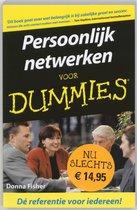 Voor Dummies - Persoonlijk netwerken voor Dummies
