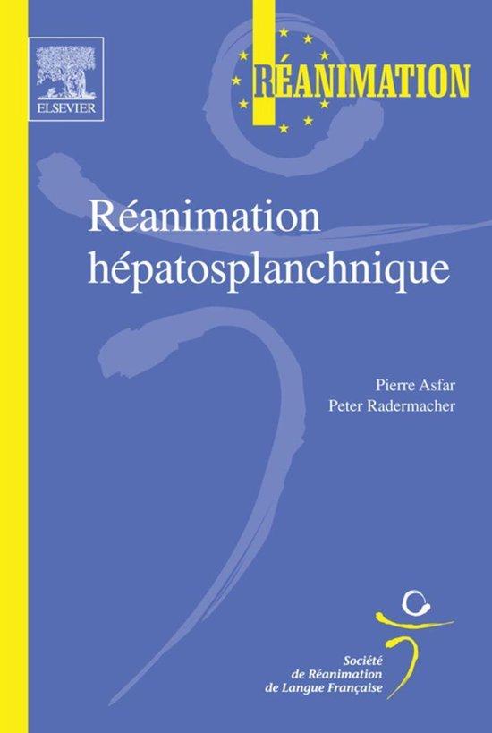 Boek cover Réanimation hépatosplanchnique van Pierre Asfar (Onbekend)
