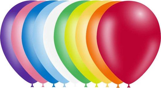 Ballonnen - Gekleurde mix - 30cm - 10st.