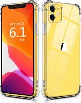 Apple iPhone 11 Hoesje Schokbestendig Transparant