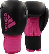 adidas Hybrid 100 Dynamic Fit (Kick)Bokshandschoenen Zwart/Roze 10 oz