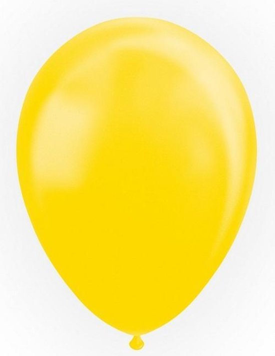 Globos Ballonnen 30,5 Cm Latex Geel Parelmoer 25 Stuks