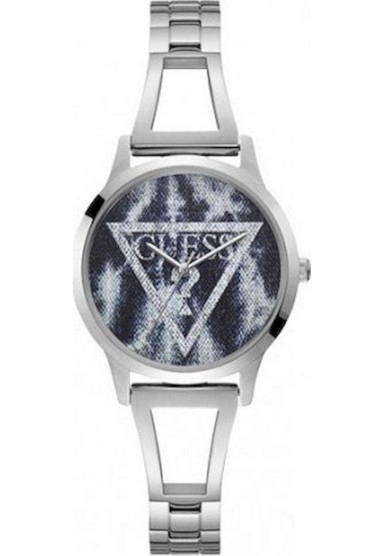 Guess Lola W1145L1 Horloge – Staal – Zilverkleurig – Ø 34 mm