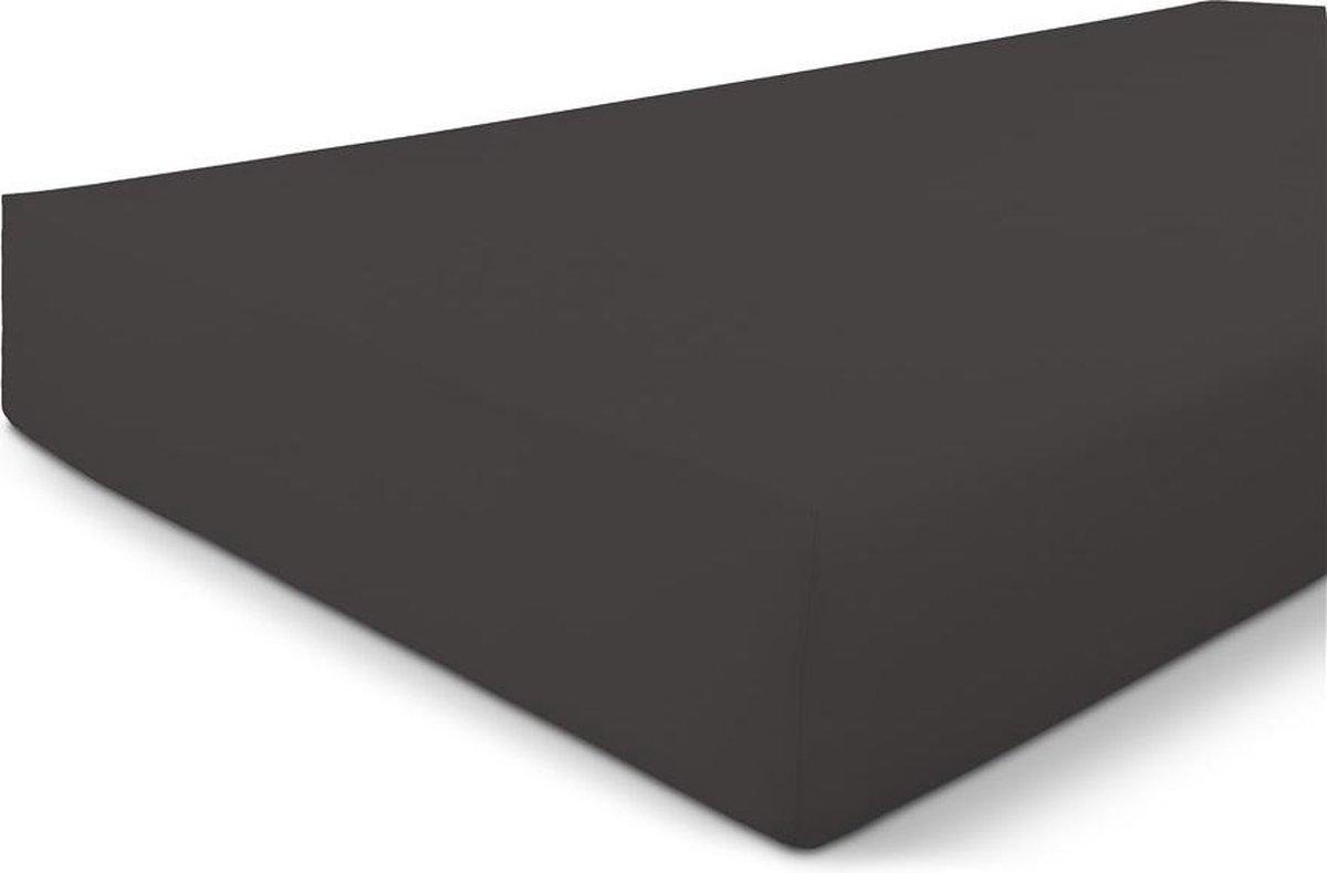 Byrklund Hoeslaken Bed Basics Jersey - Antraciet - 90x200