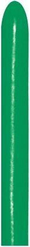 260 - Forest Green - sempertex - 50 Stuks - modeleerballon, kindercrea