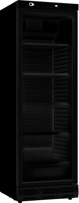 Koelkast: HORECA GLASDEUR KOELKAST 382L ALL BLACK- ZWART ZONDER LICHTBAK, COMBISTEEL | 2021 Model, van het merk Combisteel