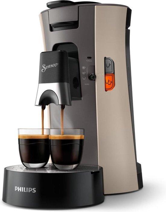 Philips Senseo Select CSA240/30 - Koffiepadapparaat - Nougat en kasjmiergrijs