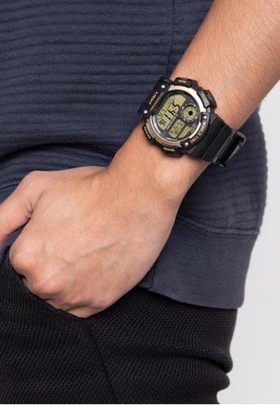 Casio CASIO Collection AE-1400WH-9AVEF Horloge - Kunststof - Zwart - Ø 48 mm - Casio