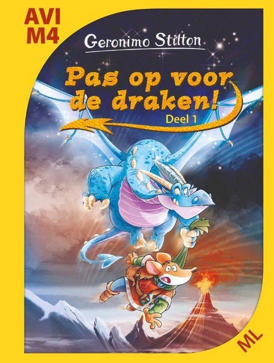 Boek cover Stilton Makkelijk Lezen 0 -   Pas op voor de draken! van Geronimo Stilton (Hardcover)