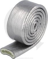 Hittebestendige hoes 15 mm zilver