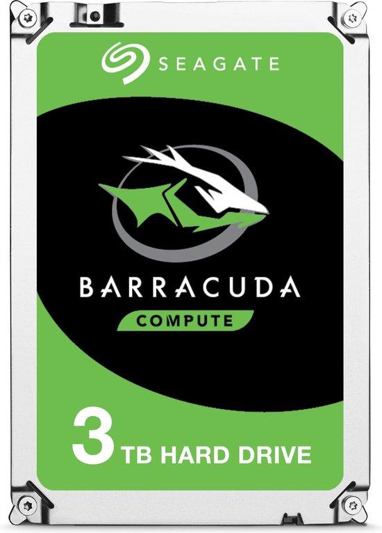 Seagate Barracuda ST3000DM007 interne harde schijf 3.5'' 3TB SATA III - Seagate