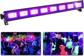 BeamZ BUV93 LED Blacklight BAR met hoge output van 8x 3W