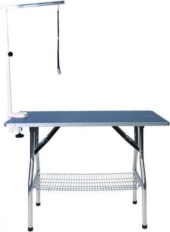 Tools-2-Groom Trimtafel Opvouwbaar Met Beugel - 110X60X78 CM