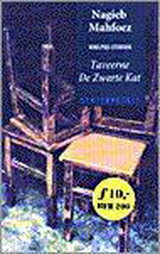 Boek cover Taveerne de zwarte kat van Nagieb Mahfoez (Paperback)