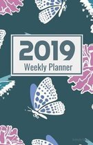 2019 Weekly Planner Butterfly Design