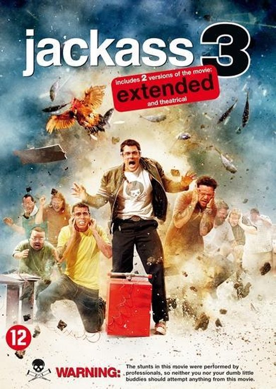 Cover van de film 'Jackass 3'