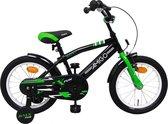 AMIGO - BMX Fun - Kinderfiets - 16 Inch - Jongens - Zwart/Groen