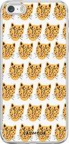iPhone 5/5S/SE siliconen hoesje - Kissing leo