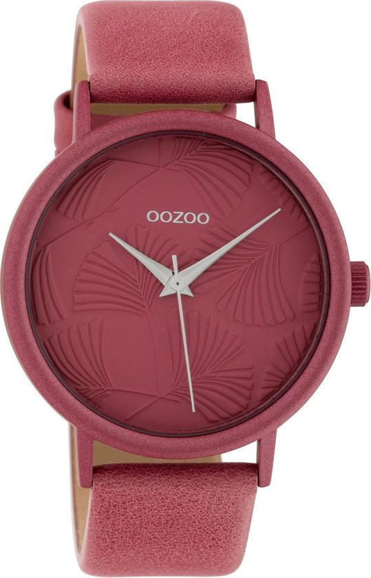OOZOO Timepieces Roze horloge C10396 (42 mm)