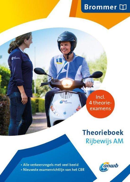 Boek cover ANWB rijopleiding - Theorieboek Rijbewijs AM - Nederland van  (Paperback)