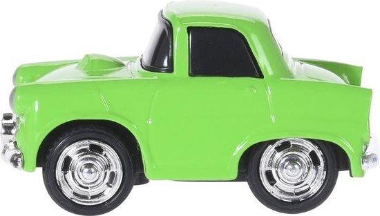 Tender Toys Speelgoedauto Groen 7 Cm