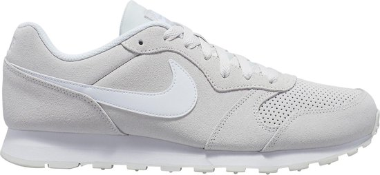 Nike Md Runner 2 Suede Heren Sneakers Platinum TintWhite Maat 46