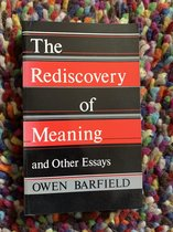 The Rediscovery of Meaning and Other Essays