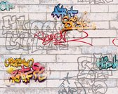 GRAFFITI BEHANG - Meerkleurig Wit  - Kinderkamer - AS Creation Boys & Girls 6