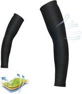 Sport Compressie Arm Sleeve (Per paar) - Zwart - Maat M