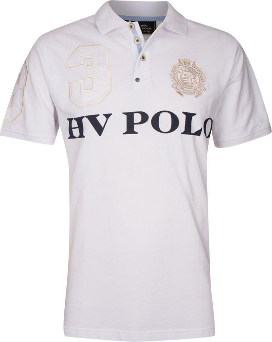 Polo Shirt Favouritas Equis White M