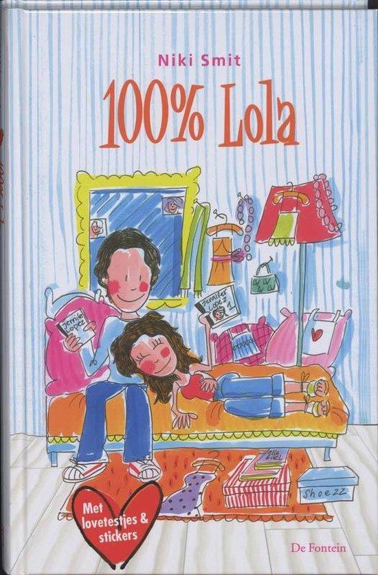 Cover van het boek '100 % Lola' van N. Smit