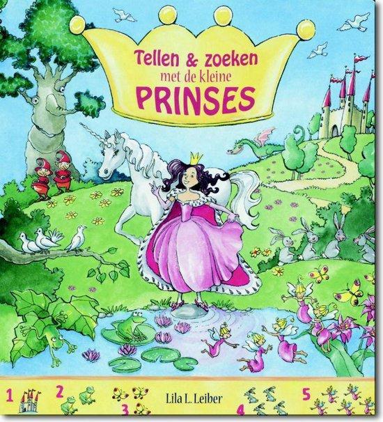 Tellen en zoeken met de kleine prinses - Lila Leiber  