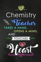 A Chemistry Teacher takes a Hand and touches a Heart