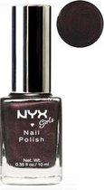 NYX Girls Nail Polish - 202 Black Plum