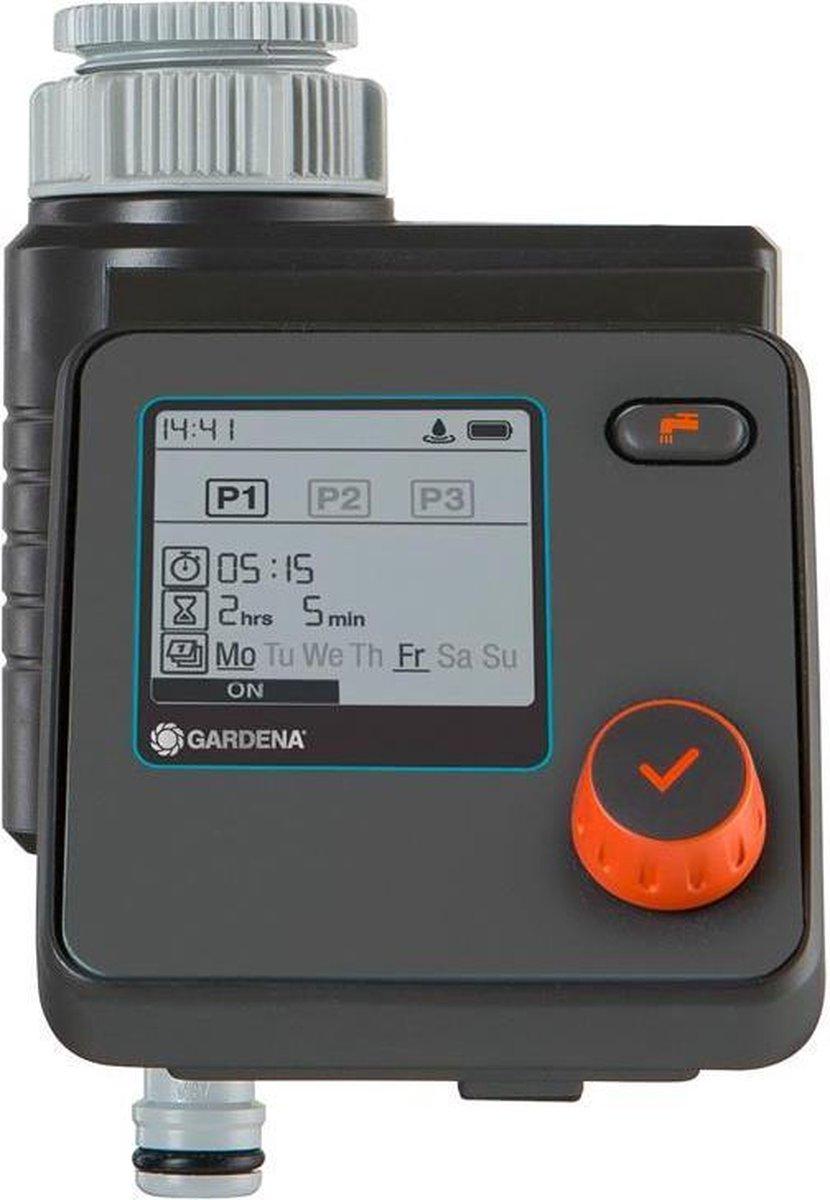 GARDENA Select Computer Besproeiingscomputer - 3 Besproeiingen Per Dag