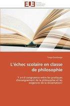 L �chec Scolaire En Classe de Philosophie