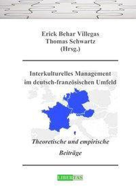 Omslag van Interkulturelles Management im deutsch-französischen Umfeld