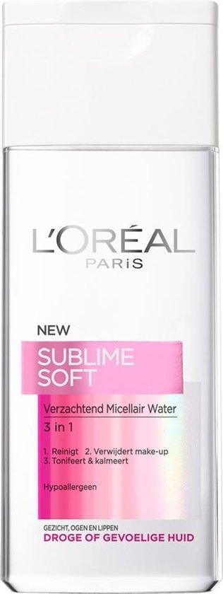 L'Oréal Paris Skin Expert Sublime Soft Micellair water- 200 ml - Reinigingswater