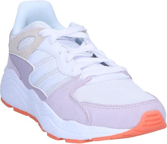 Adidas Chaos Dames Sneakers - Ftwr White/semi Coral Maat 38.5 FVr5MD