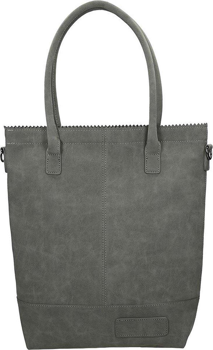 Zebra Trends Natural Bag shopper dark grey - Zebra trends