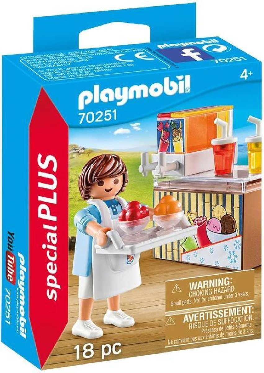 Playmobil 70251 Special Plus Slush Verkoper