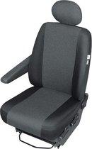 Ares DV1-L Pasklare Auto stoelhoes voor bestuurdersstoel voor oa: Scudo, Vito, Expert