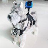 Hondentuig met Steun voor Sportcamera KSIX Zwart