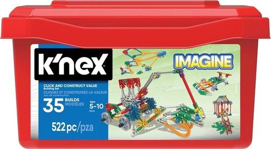 K'NEX Opbergdoos - Click & Construct Value - bouwset - 522 onderdelen