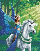 Craft Buddy - Anne Stokes framed crystal art kit realm of enchantment