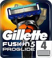 Gillette Fusion5 ProGlide Scheermesjes Mannen - 4 stuks